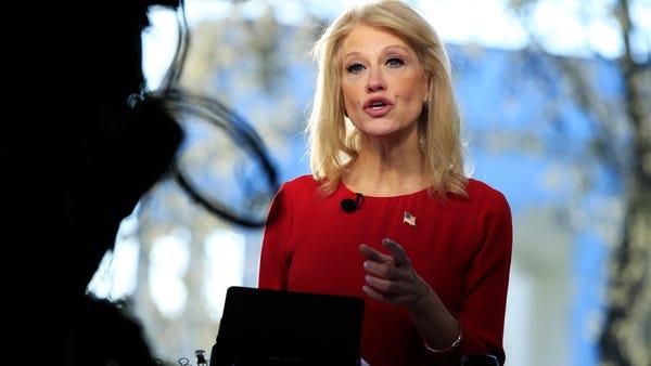 White House adviser Kellyanne Conway is...