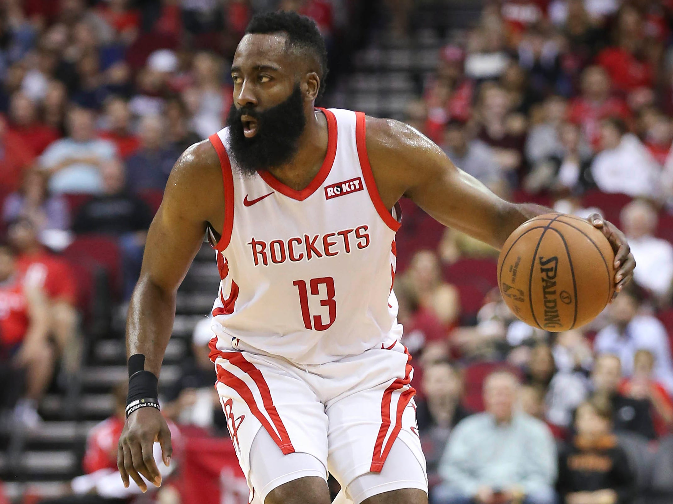 112. James Harden, Rockets (March 30): 50 points, 11 rebounds, 10 assists in 119-108 win over Kings (seventh of season).