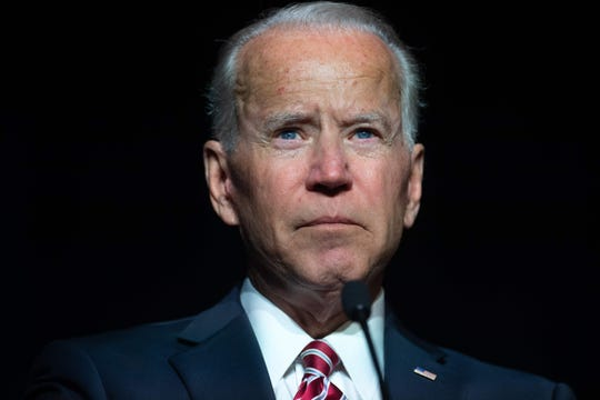 Former Vice President Joe Biden says he doesn't believe he acted inappropriately.