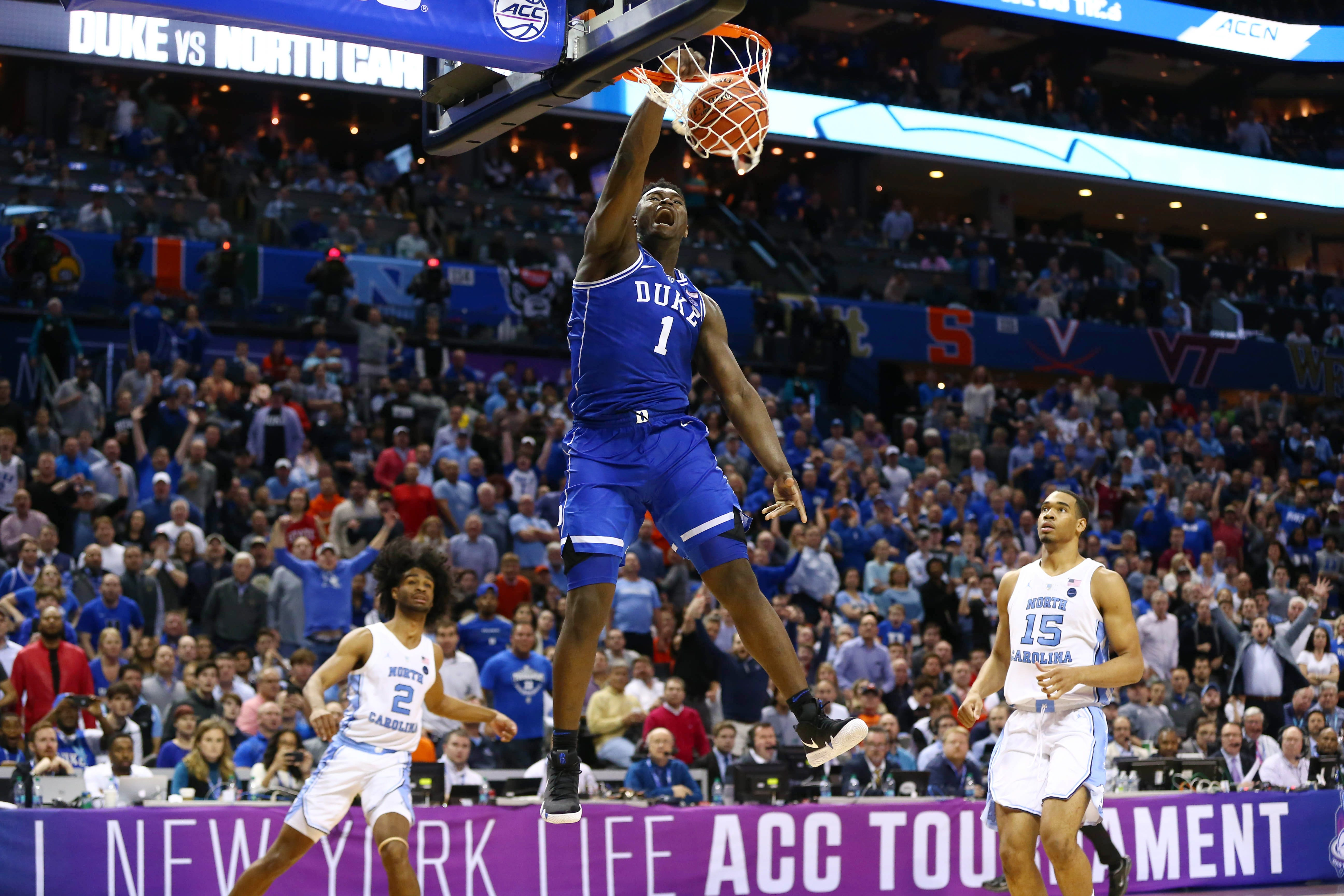 358fec4f29b Zion Williamson enters NBA world with LeBron James-type expectations ...