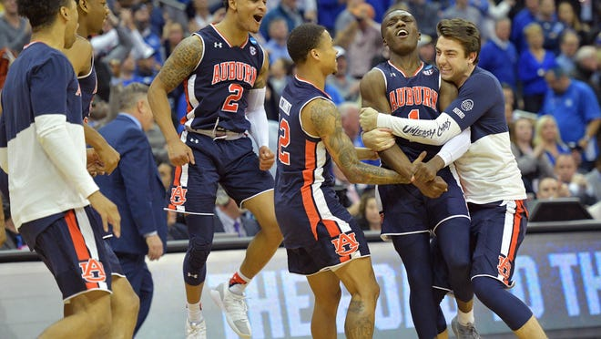 March Madness Auburn Heads To Final Four For First Time Ever