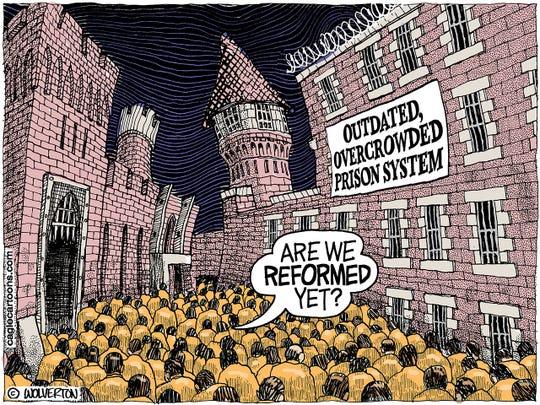 Obsolete prison system