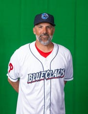 Lakewood BlueClaws manager Mike Micucci