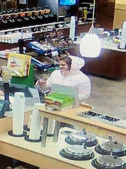 Jackson Police seek the public's help in identifying this woman, who is suspected of shoplifting.