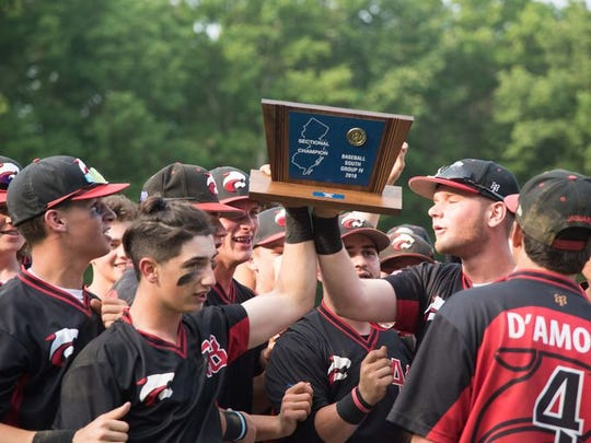 Jackson Memorial, shown holding the NJSIAA South Group IV championship plaque last spring, opens its season with games against Toms River South Monday and Wednesday.