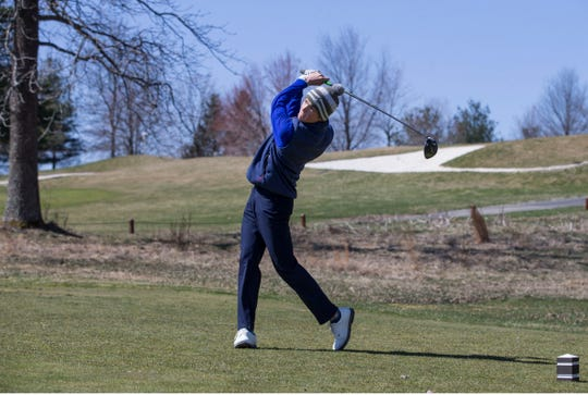 Toms River North's Connor Bekefi helped the Mariners to the team title at the 2019 Wall Invitational Golf Tournament at Jumping Brook Country Club on Monday. The Mariners produced a four-game team total of 329, with Bekefi finishing at 83. Second place went to Rumson-Fair Haven at 345, while St. Rose was third at 349. Brendan Kenny of St. Rose took the individual tilte with a 73.