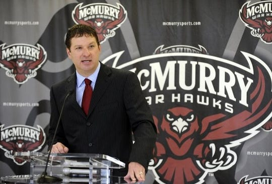 Current Texas Tech head coach Chris Beard spent the 2012-13 season at McMurry in its first year of a short-lived transition to Division II. Beard spent the next two seasons at Angelo State.