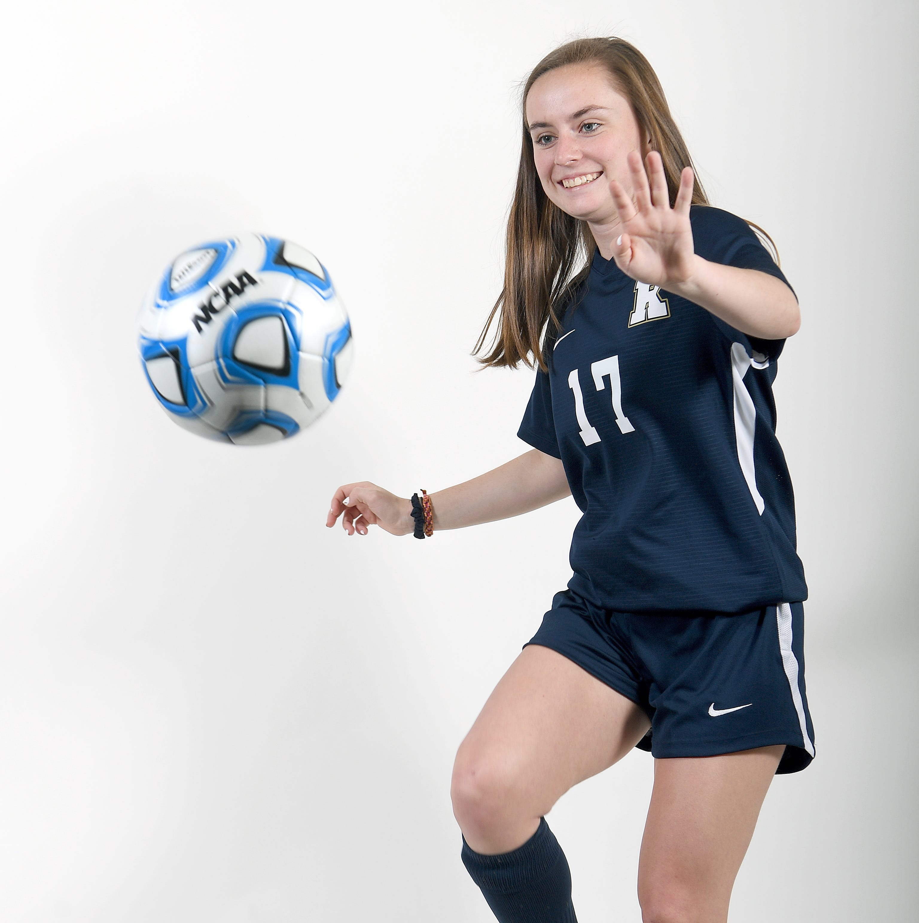 Caroline Allison is a junior defender for the Roberson Rams.
