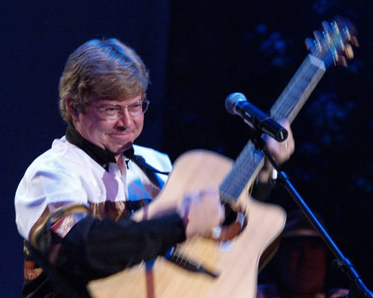 Jim Curry has been performing his John Denver tribute for more than two decades.