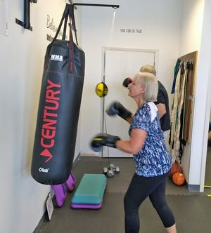 Marieke Kreps was diagnosed with Parkinson's Disease at age 63. She takes classes at Rock Steady Boxing on Merritt Island.
