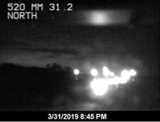 Crash on SR 520 west in Orange County