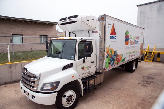 Citgo provided this new refrigerated truck to the Coastal Bend Food Bank. The truck will provide for an expansion of the food bank's mobile food pantry services and is specifically for areas impacted by Hurricane Harvey.