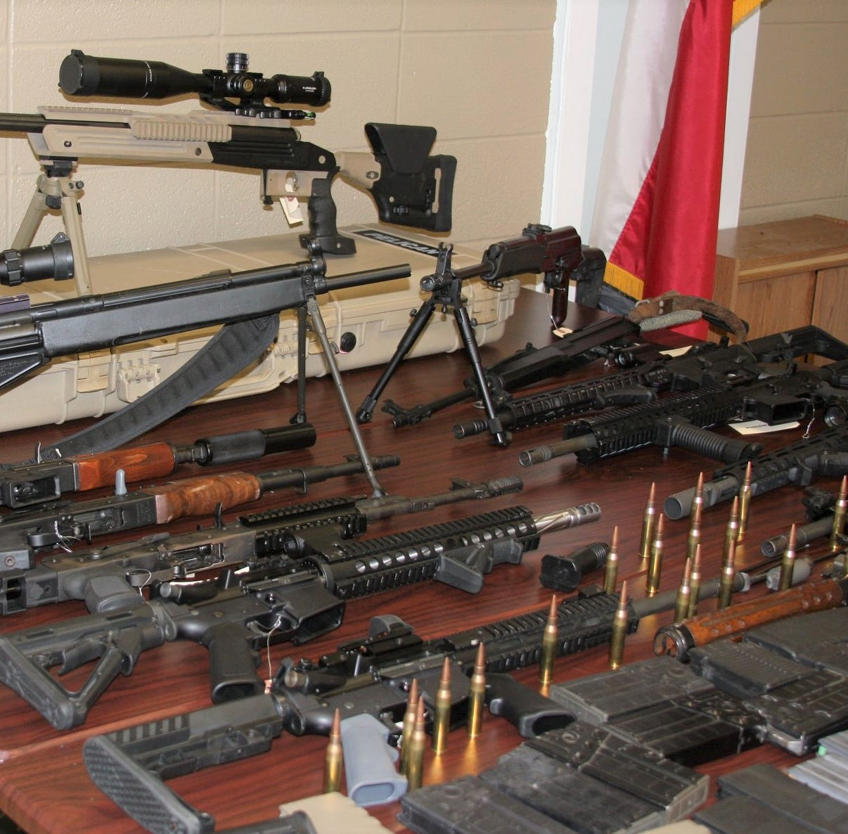 Two men face federal charges after weapons found by Jim Wells County Sheriff's Office