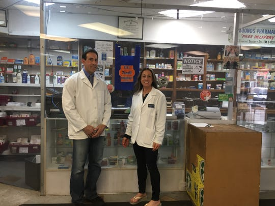 Anthony Minniti and his sister Marian Morton co-own Bell Pharmacy. They plan to restore the storefront on Haddon and Kaighn avenues with a more welcoming facade, windows and lighting.