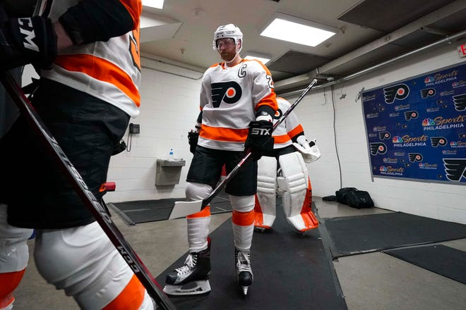 Claude Giroux and the Flyers have three more games to play this season and with the playoffs out of the question, many are already thinking about next season.