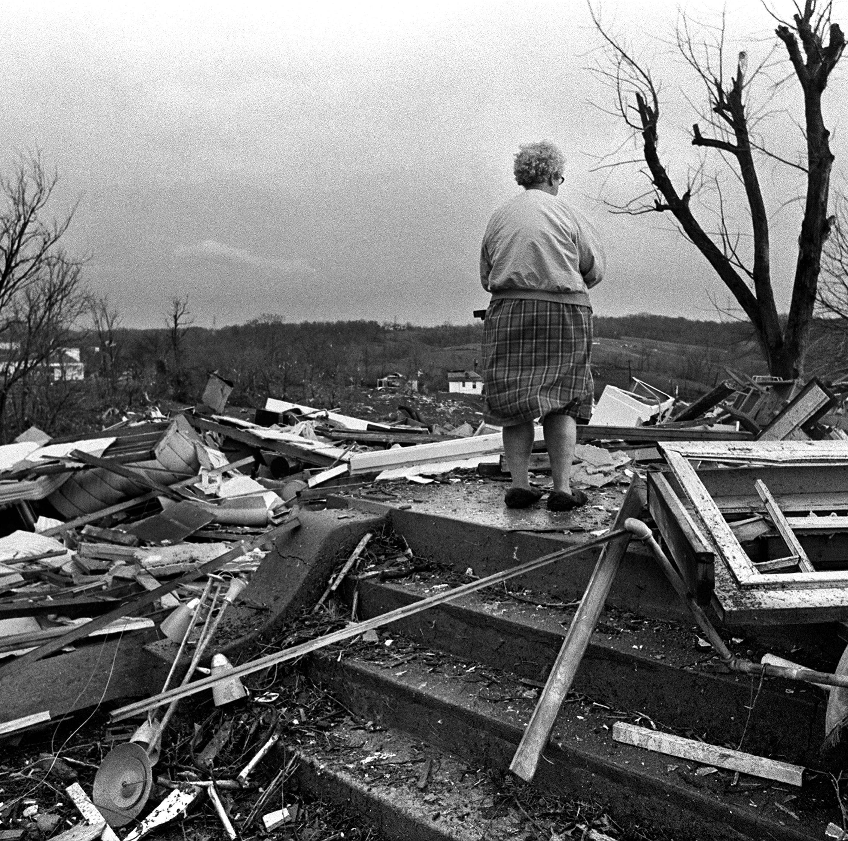 45 years ago, the deadly Super Outbreak of tornadoes devastated Kentucky