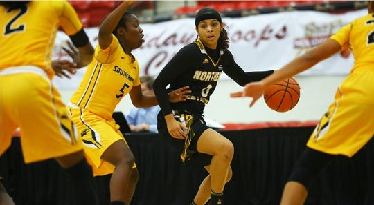 Shar'Rae Davis played for the NKU Norse women's basketball team from 2014-2017.