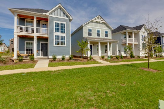In Waterford Village, townhomes are available from the mid-$200,000s and single-family homes are priced from the high $200,000s. The subdivision is in Hendersonville.