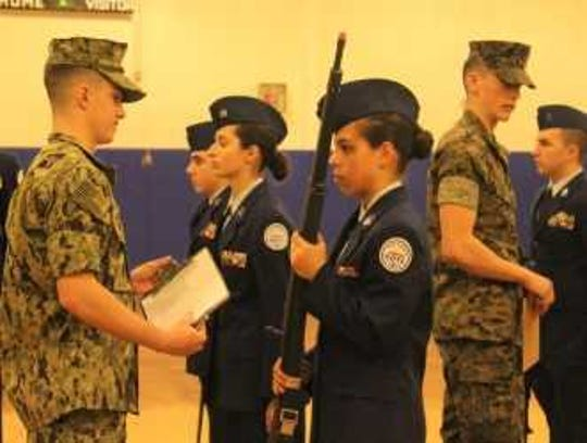 Old Bridge High School Air Force Junior ROTC