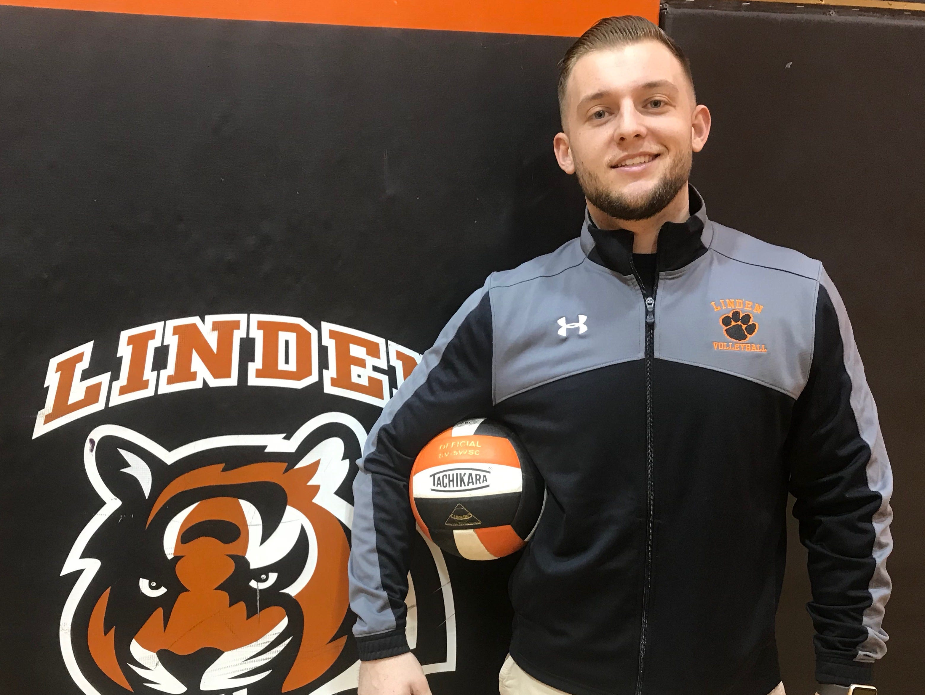 Jimmy Smith is the new head boys volleyball coach at Linden High School