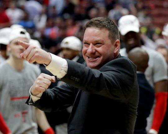Texas Tech coach Chris Beard coached in Abilene before his trek led him to Lubbock.