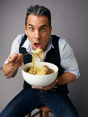 """Comic Sebastian Maniscalco has a role in director Martin Scorsese's """"The Irisihman,"""" due in theaters later this year."""