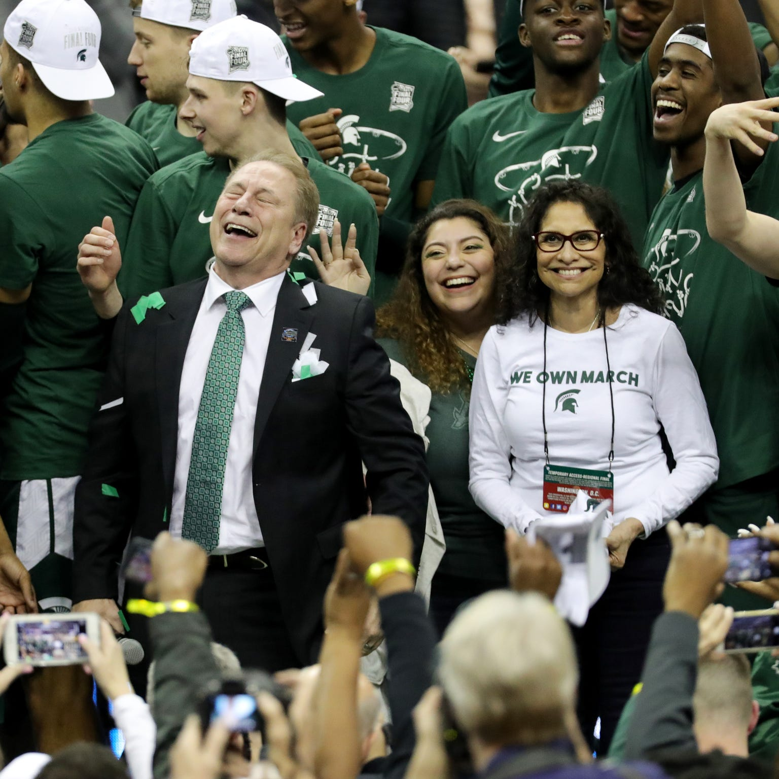 Michigan State the Final Four blueblood, with 'idol' Tom Izzo chasing 2nd title