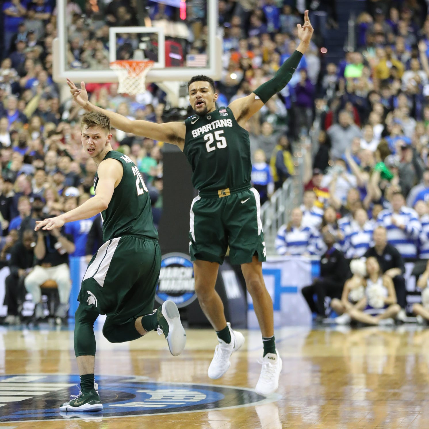 Tom Izzo OK'd the play of his life. Then Michigan State stunned Duke