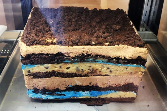 Dream Cakes feature 14 layers of cake, buttercream frosting and mousse at Treat Dreams Dessert Emporium in Ferndale.