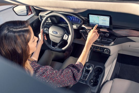 The 2020 Ford Escape, which goes on sale in the fall, is designed to compete primarily with the Honda CR-V and Toyota RAV4.