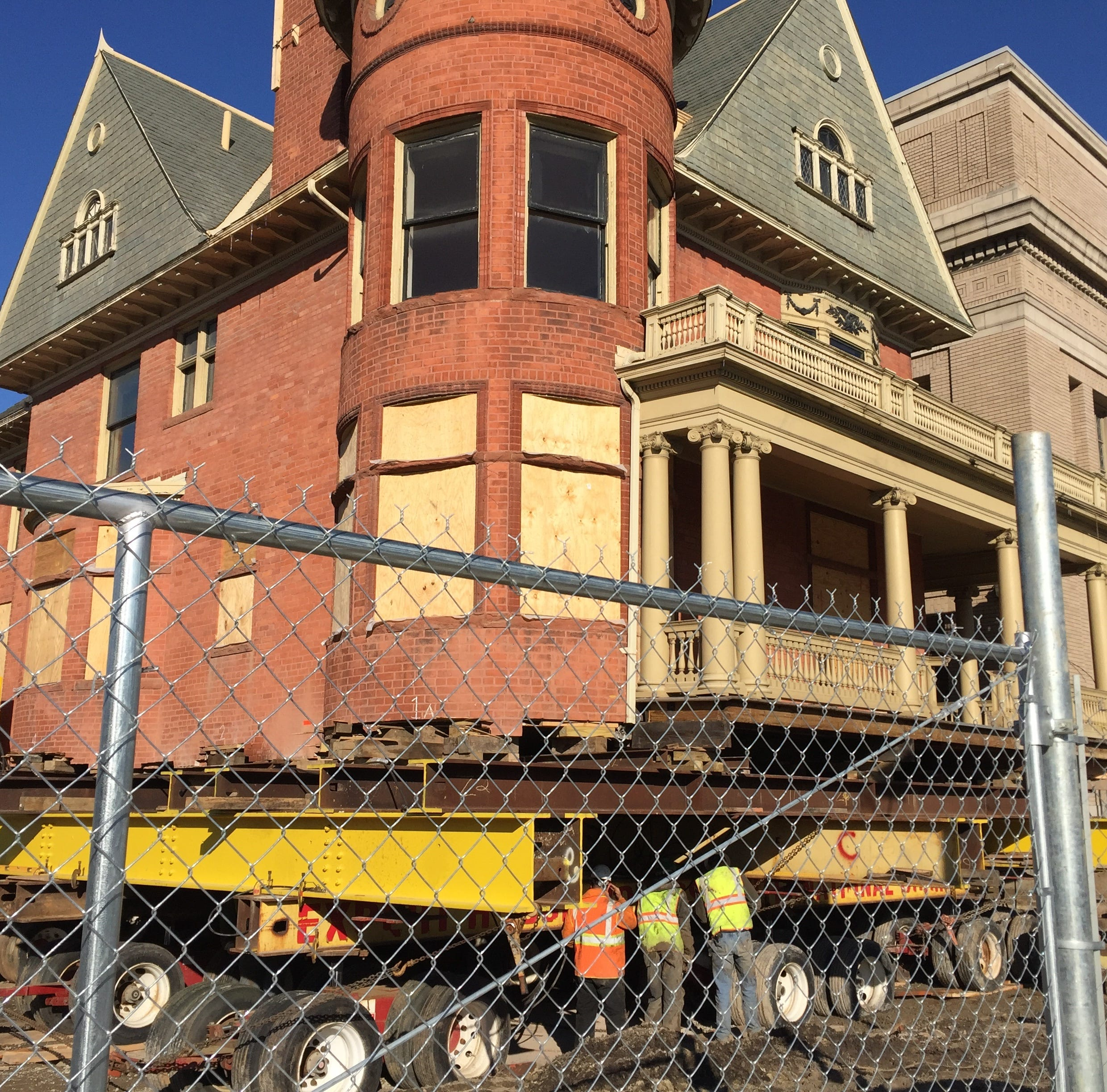 These historic Detroit buildings were saved — by hauling them away