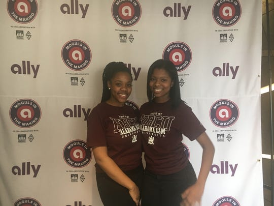 Erin Martin and Erica Johnson are sophomores at Alabama A&M University and Detroit natives.