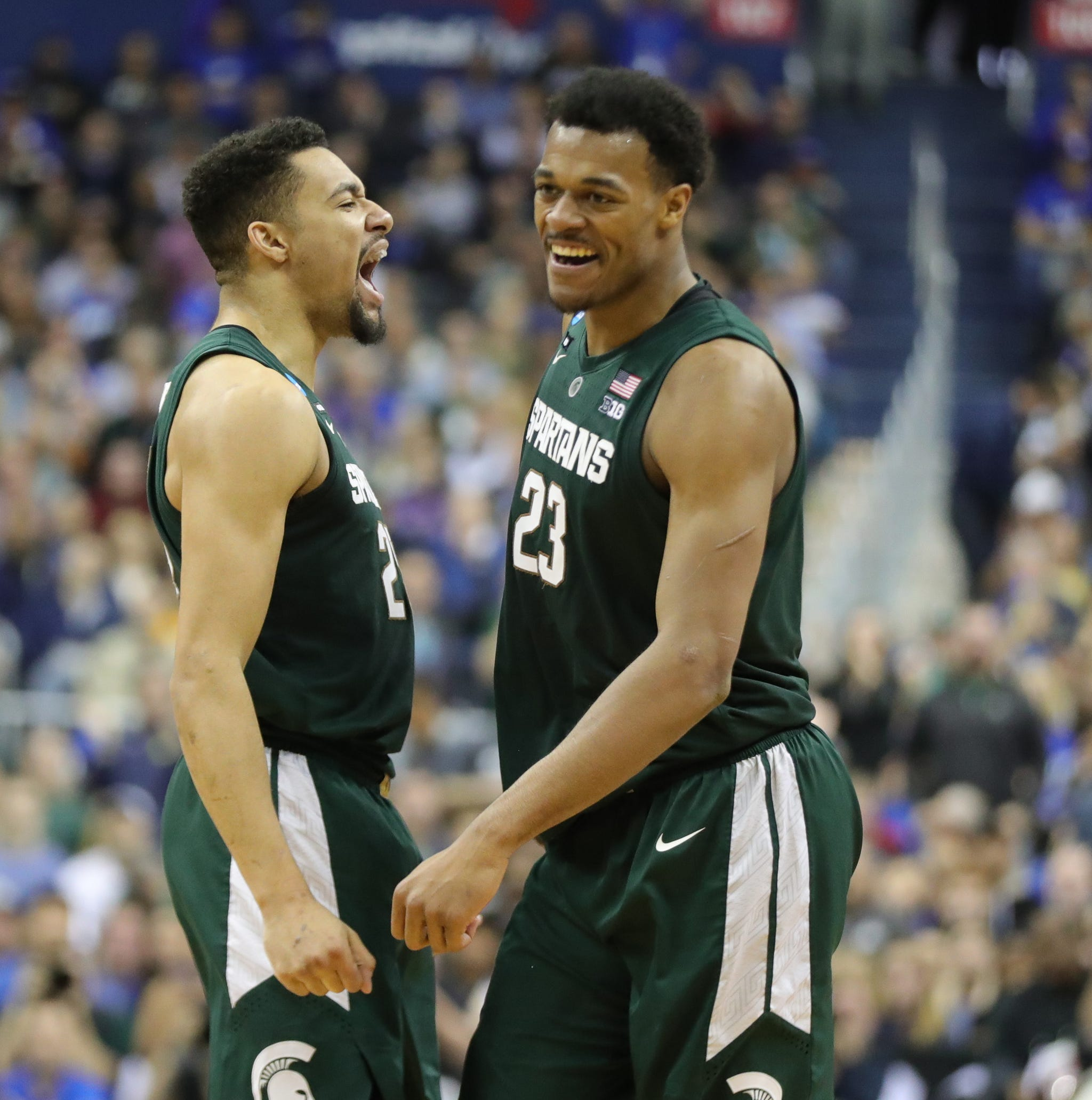One glance reveals Michigan State basketball's extraordinary connection