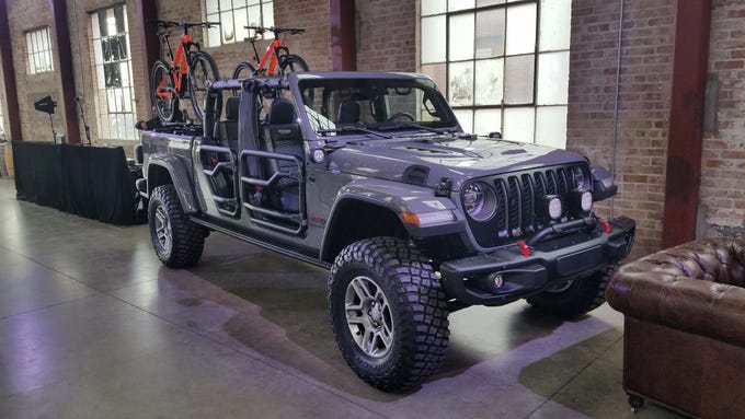 The 2020 Jeep Gladiator