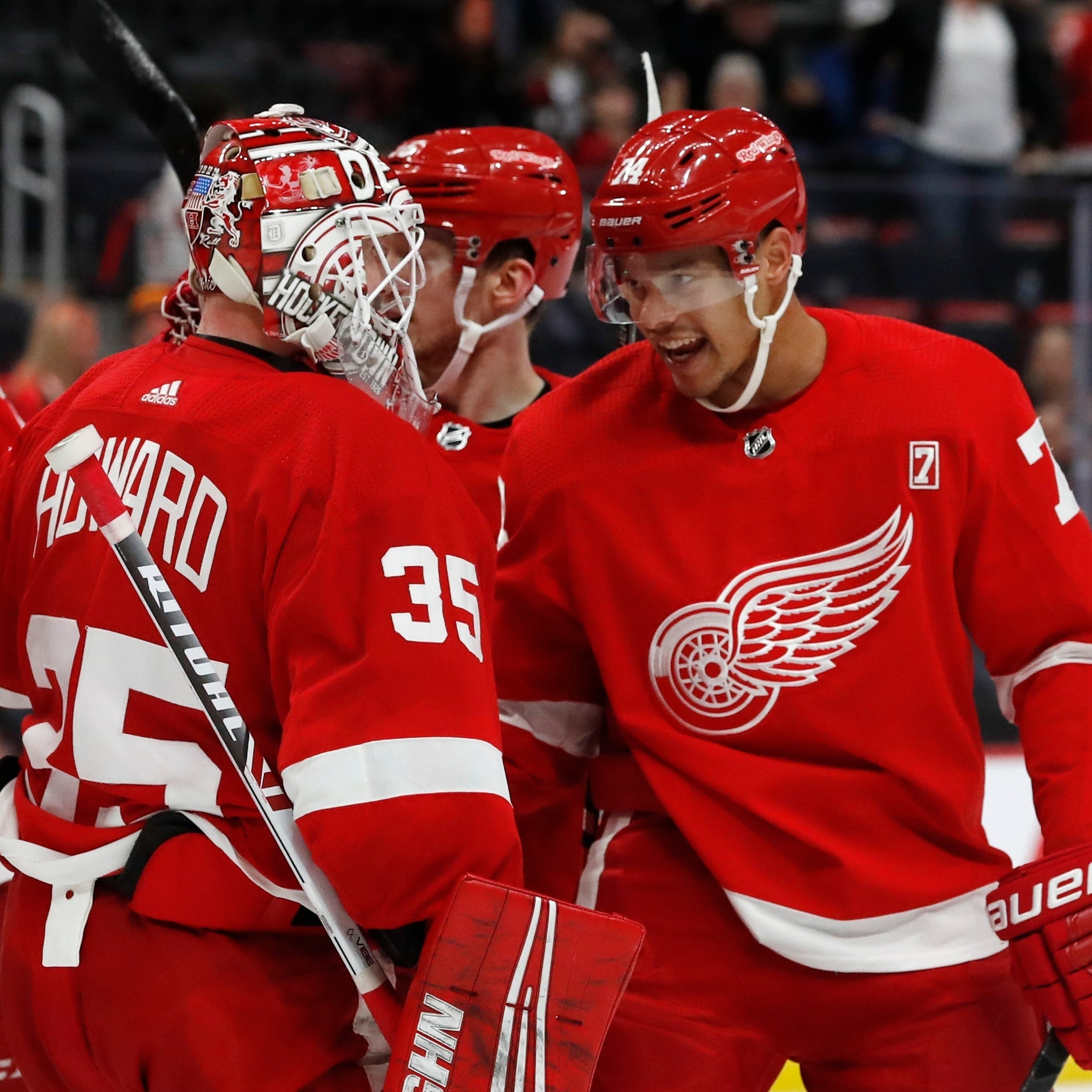 Red Wings keep their 'culture' through tough times, strong stretch