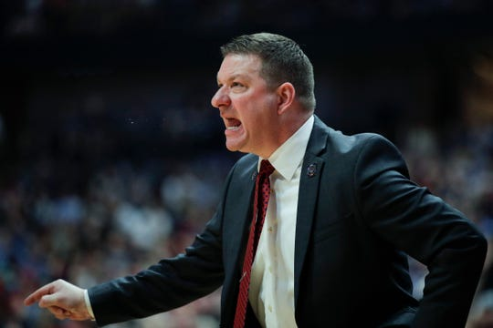 """Coach Izzo is one of my idols,"" Texas Tech coach Chris Beard says."