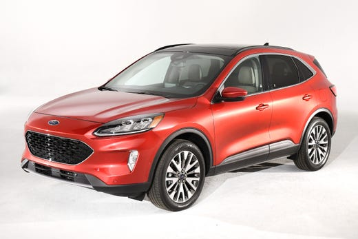 The is the new 2020 Ford Escape.