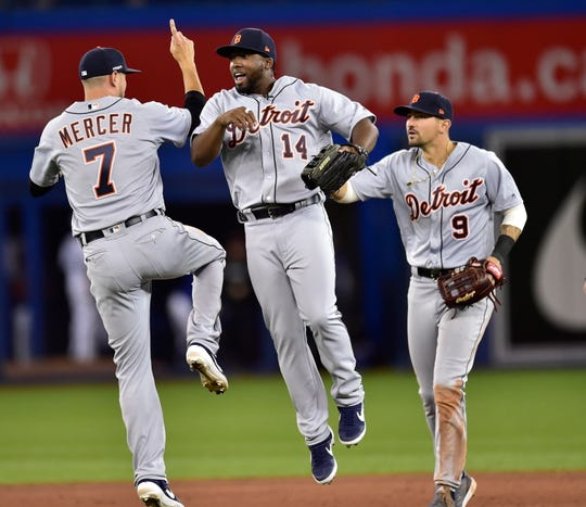 The Tigers' ability to get outs using defensive shifts was plenty of reason to celebrate in Toronto.