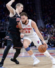 Pistons forward Blake Griffin will miss Monday night's game against the Indiana Pacers.