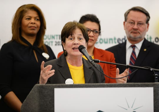 Victoria Kovari, executive director of the Detroit 2020 Census Campaign,  said more  than 2,000 workers will be hired to help encourage Detroit residents to fill out the census.