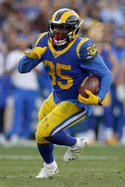 C.J. Anderson ran for 123 yards and two scores in the Rams' playoff win over the Cowboys this season.