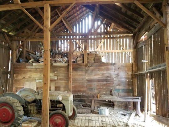 A Reclaimed Michigan barn.