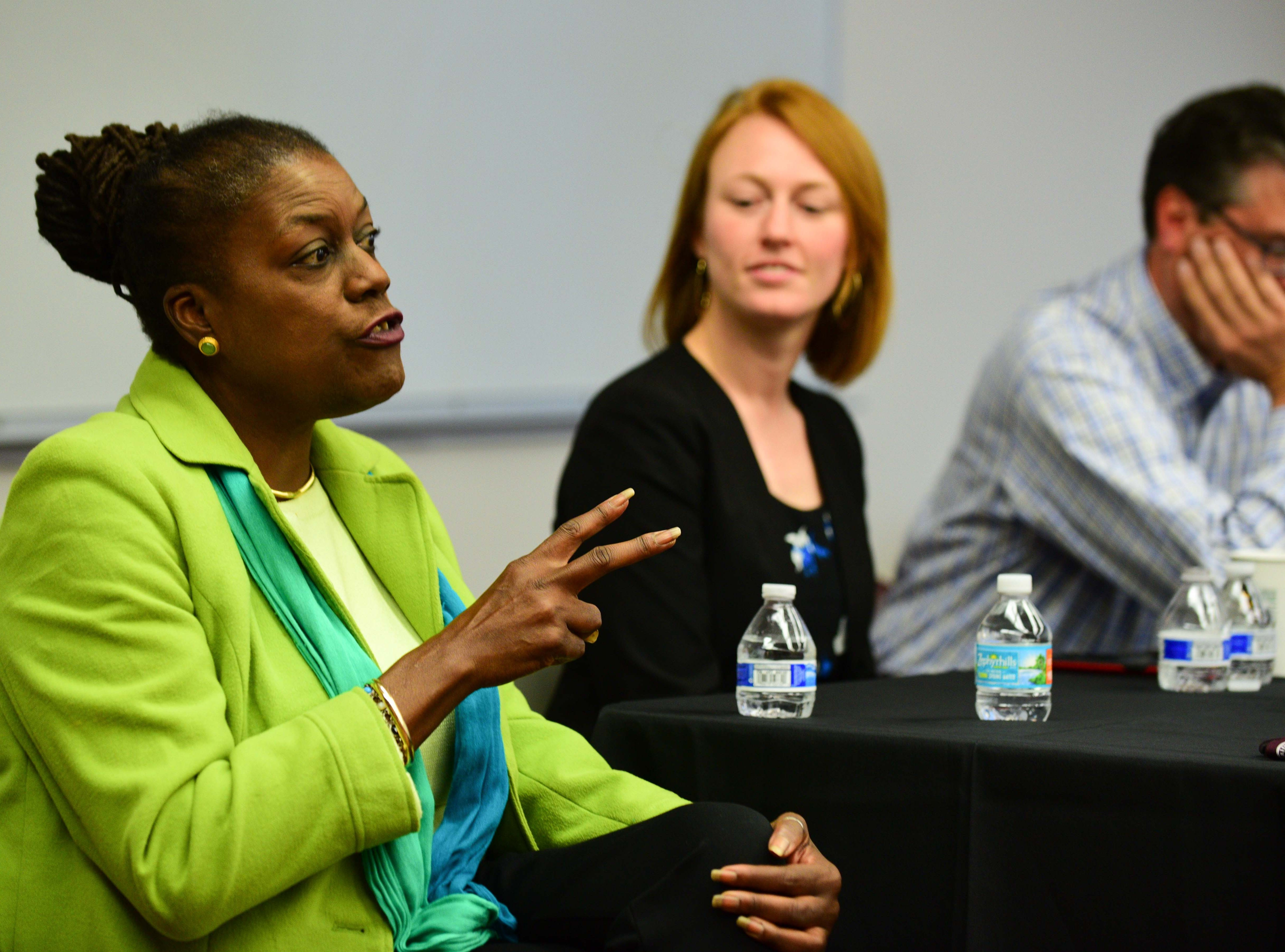 The FSU College of Social Work hosted a panel discussion regarding the impact of poverty in the Big Bend area on Friday.