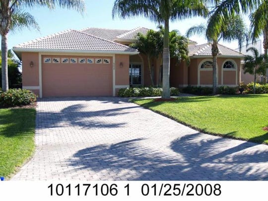 This home at 5235 SW 28th Place, Cape Coral, recently sold for $600,000.