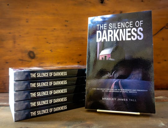 """The Silence of Darkness"" is a new murder mystery by Brad Tall set in rural Door County."
