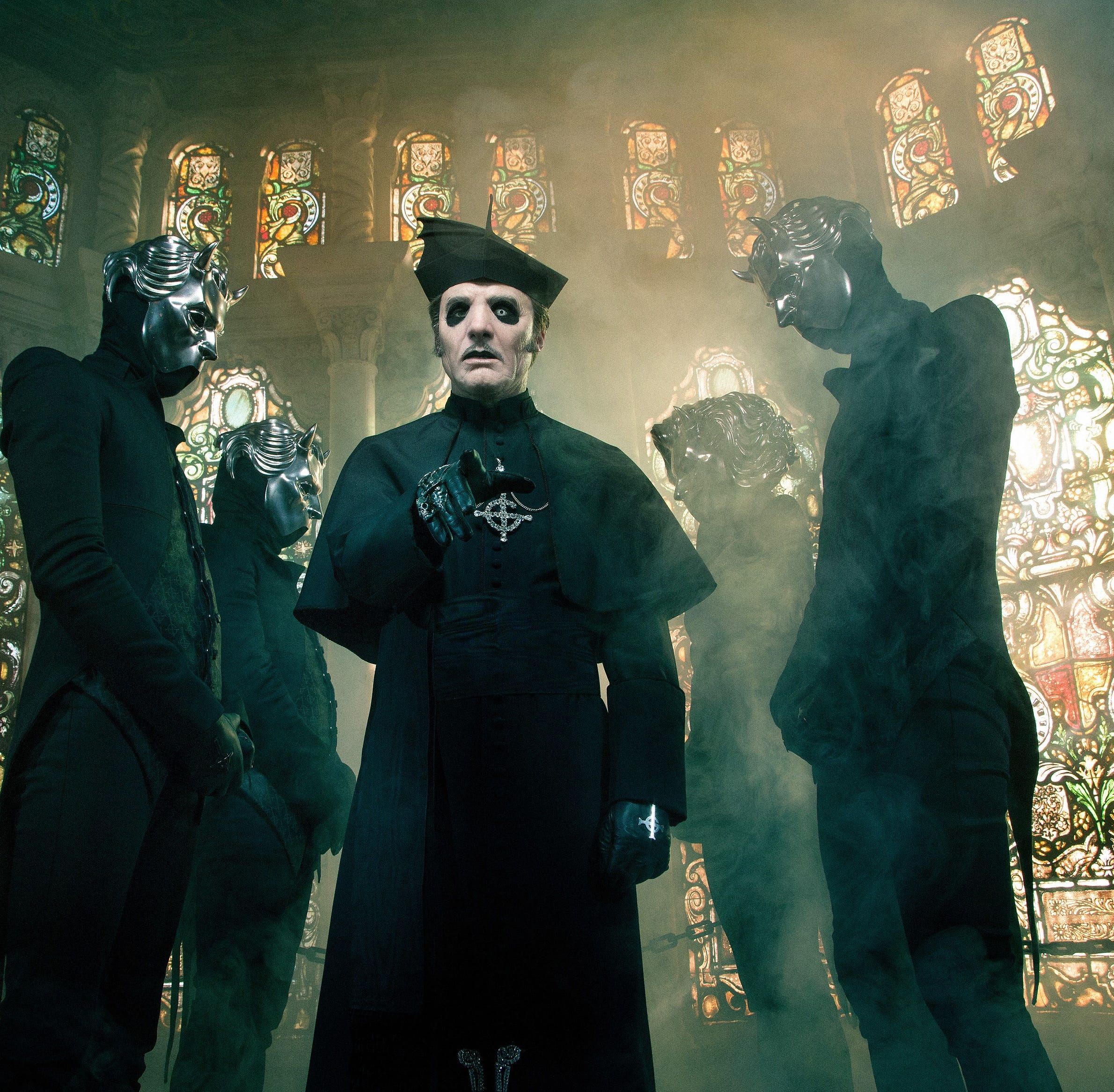 Swedish rock band Ghost coming to Premier Center