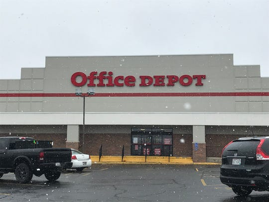 Office Depot, 1535 W. Mason St., will close on May 18. The other two office stores in the Green Bay area, both Office Max locations, will remain open.