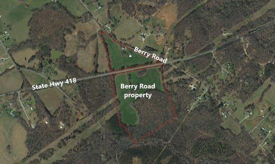 Southern Current has proposed a solar farm for this 55-acre site on Berry Road in southern Greenville County, but the Charleston-based company says it must get tax breaks to make the project viable.