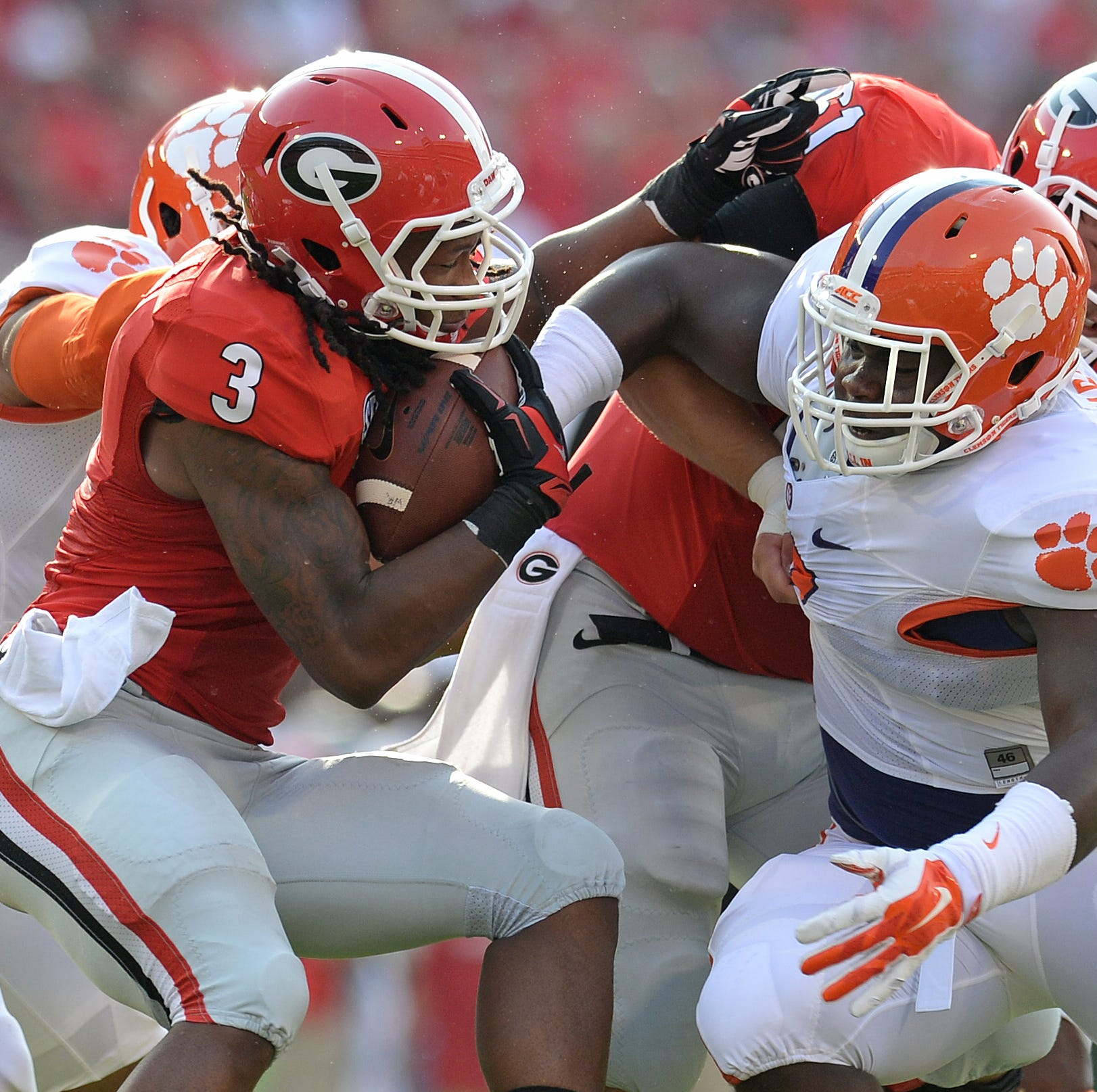 Clemson and UGA football add home-and-home series for 2032 and 2033