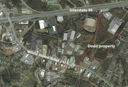 Russell Dodd's property off White Horse Road is one of three sites in southern Greenville County where Southern Current wants to install a solar farm if it can get enough tax breaks to make the project profitable.